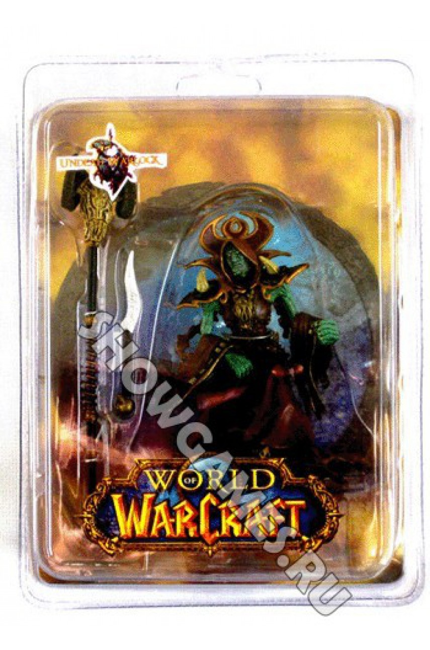 World of Warcraft Series. Фигурка Undead Warlock (12 см)