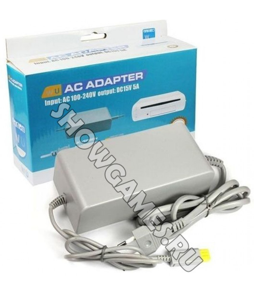 Сетевой адаптер 220V Wii U