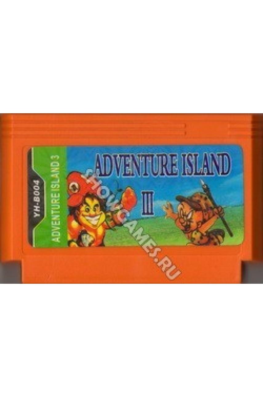 Adventure Island 3 (Остров приключений 3). Игра для Денди 8 Бит.