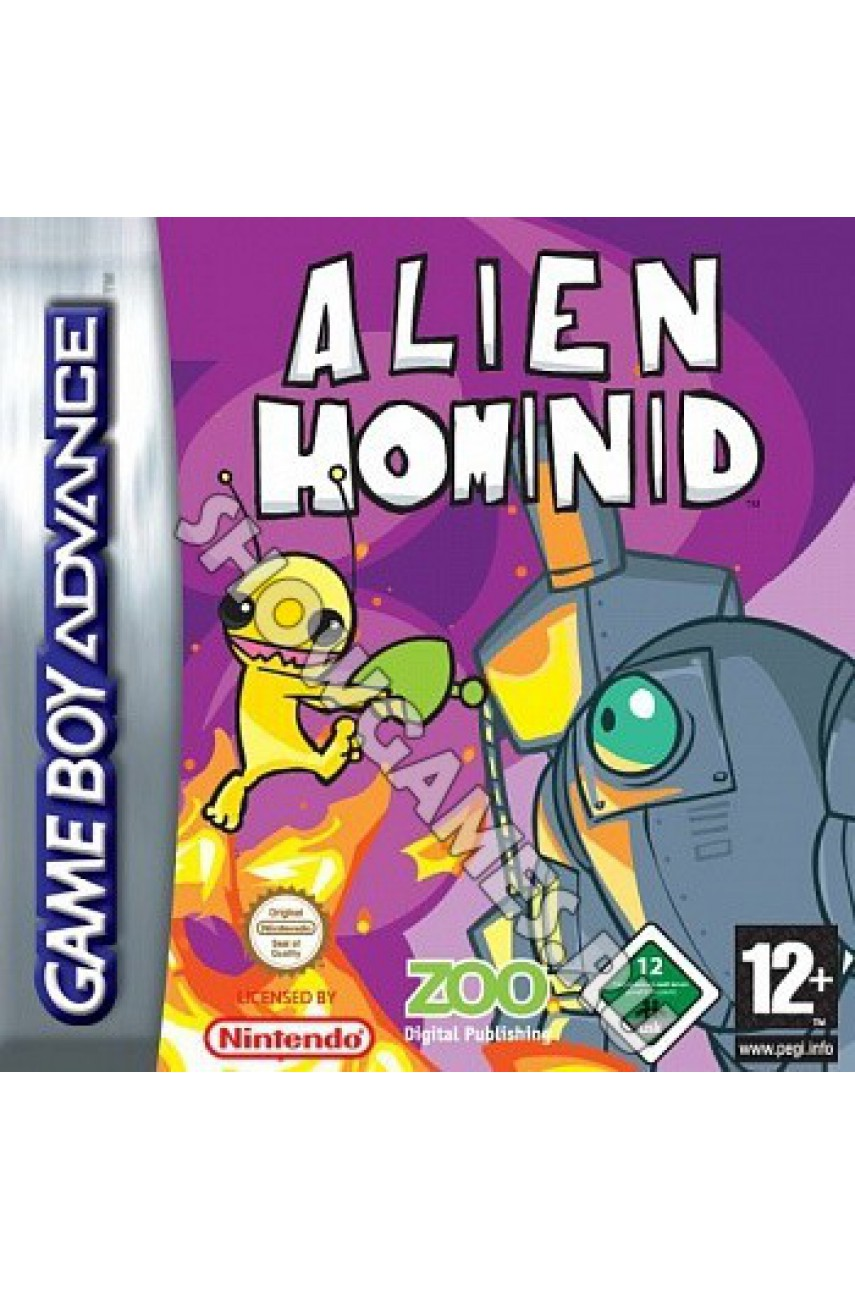 Alien Hominid [Game Boy]