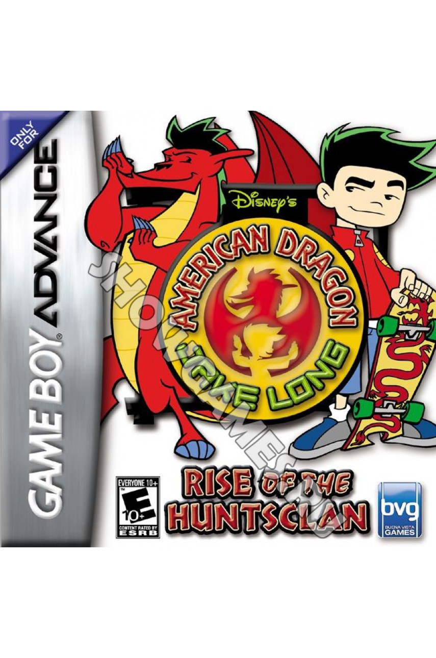 American Dragon: Jake Long Rise of the Huntsclan [Game boy]