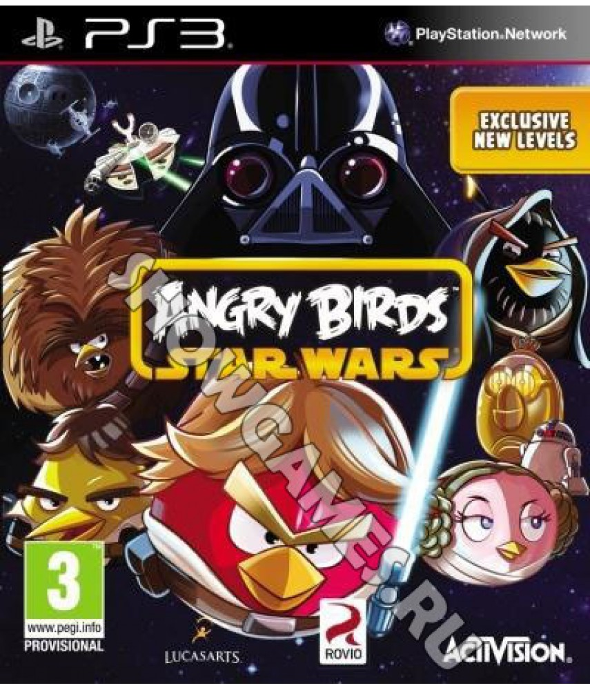 Angry Birds Star Wars (с поддержкой PS Move) [PS3]