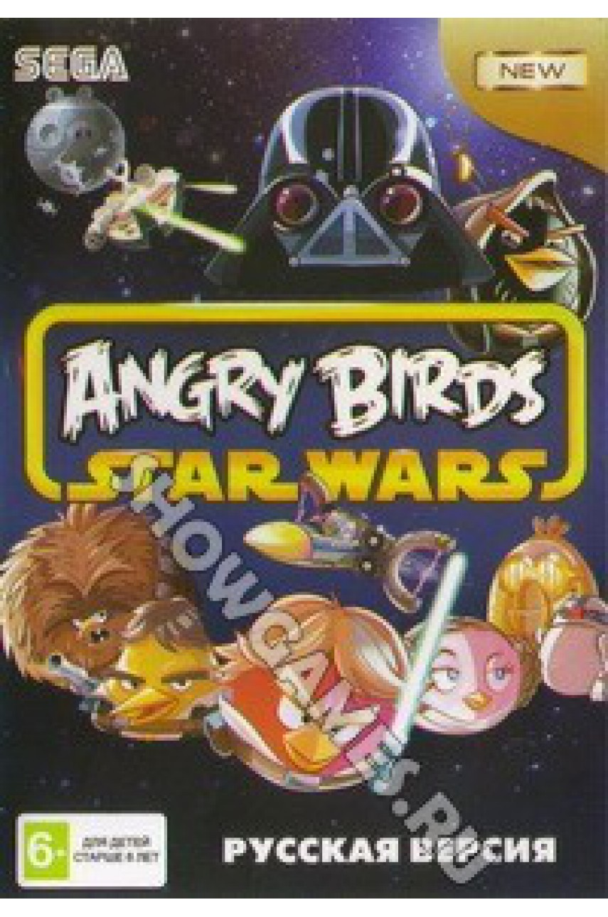 Angry Birds Star Wars [Sega]