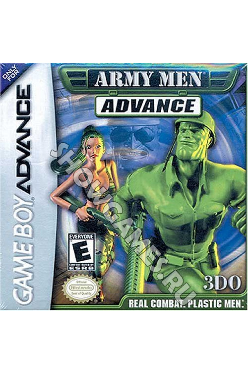 Army Men Advance (Русская версия) [GBA]