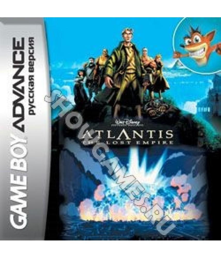 Atlantis: The Lost Empire [GBA]