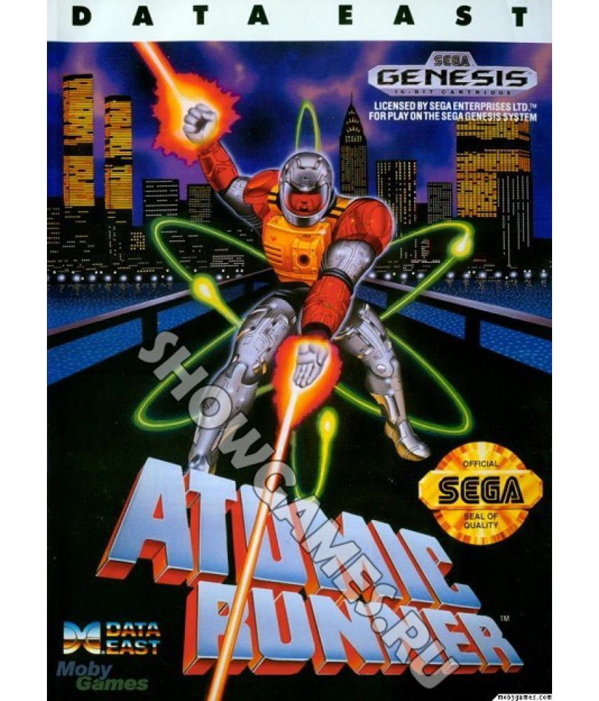 Atomic Runner [Sega]