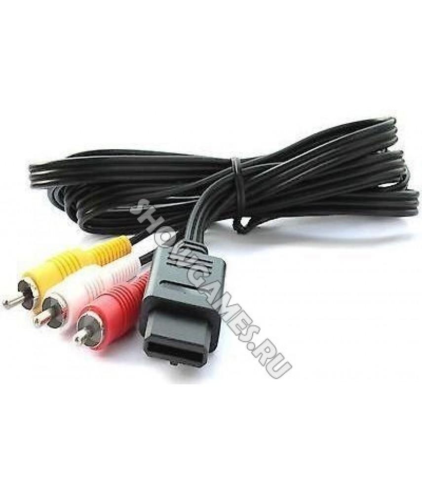 AV кабель для Super Nintendo (SNES, SHVC)
