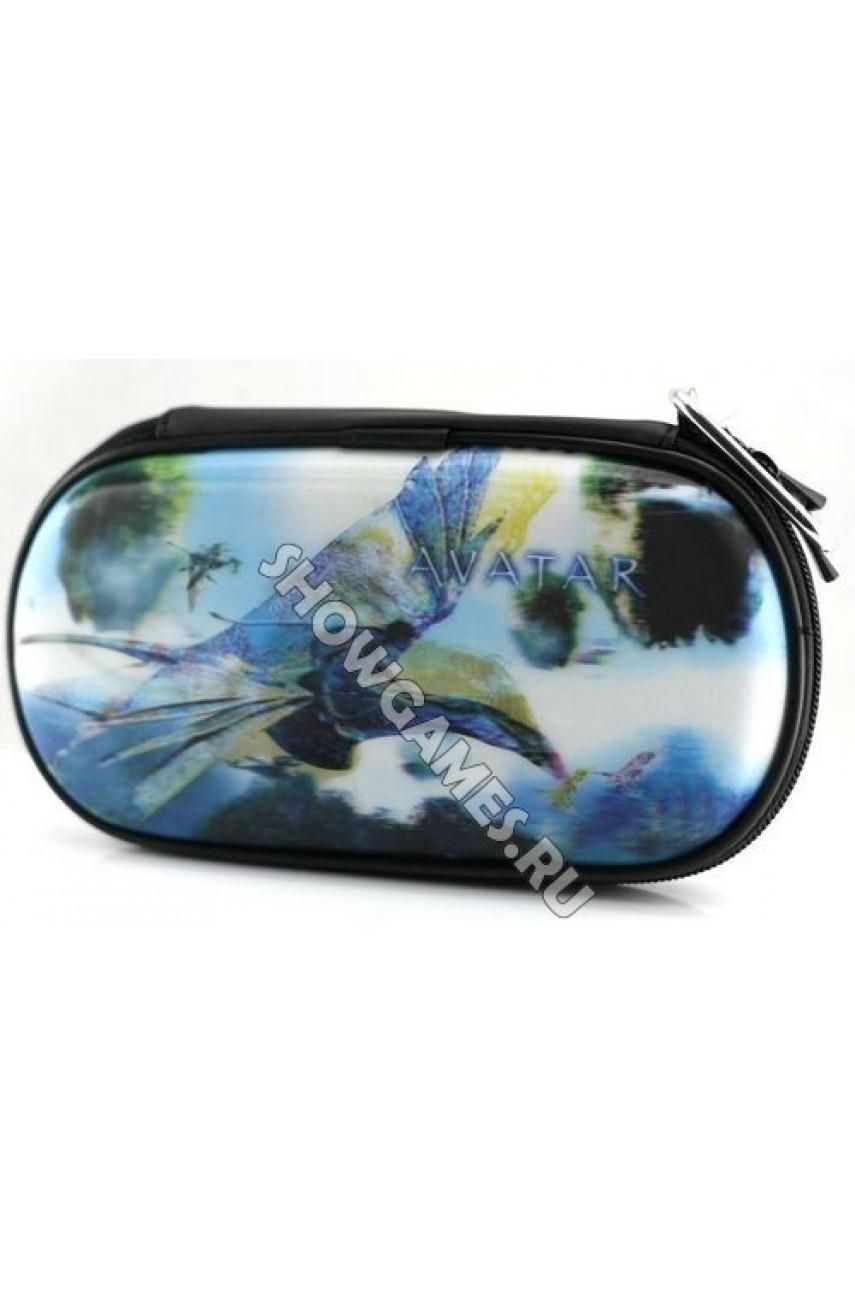 PSP 3D Case Foam - Защитный чехол с голографическим рисунком Avatar