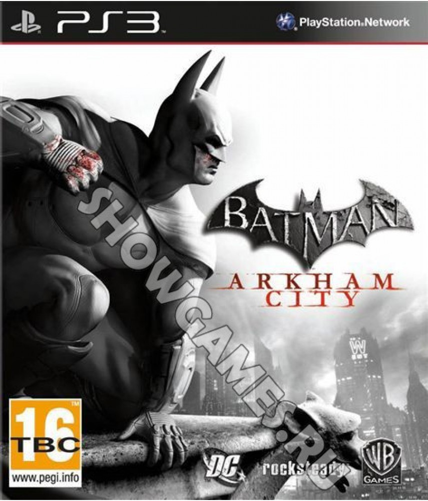 Batman: Arkham City [PS3] - Б/У