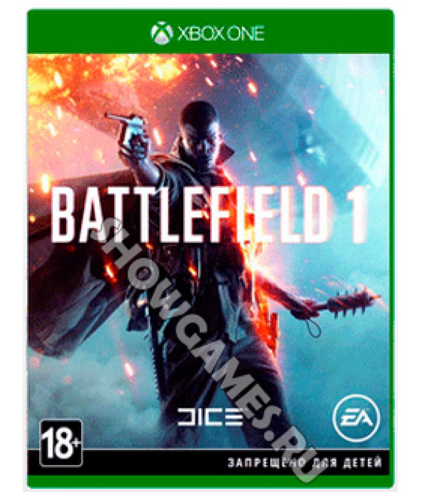 Игра Battlefield 1 на русском языке для Xbox One - Б/У