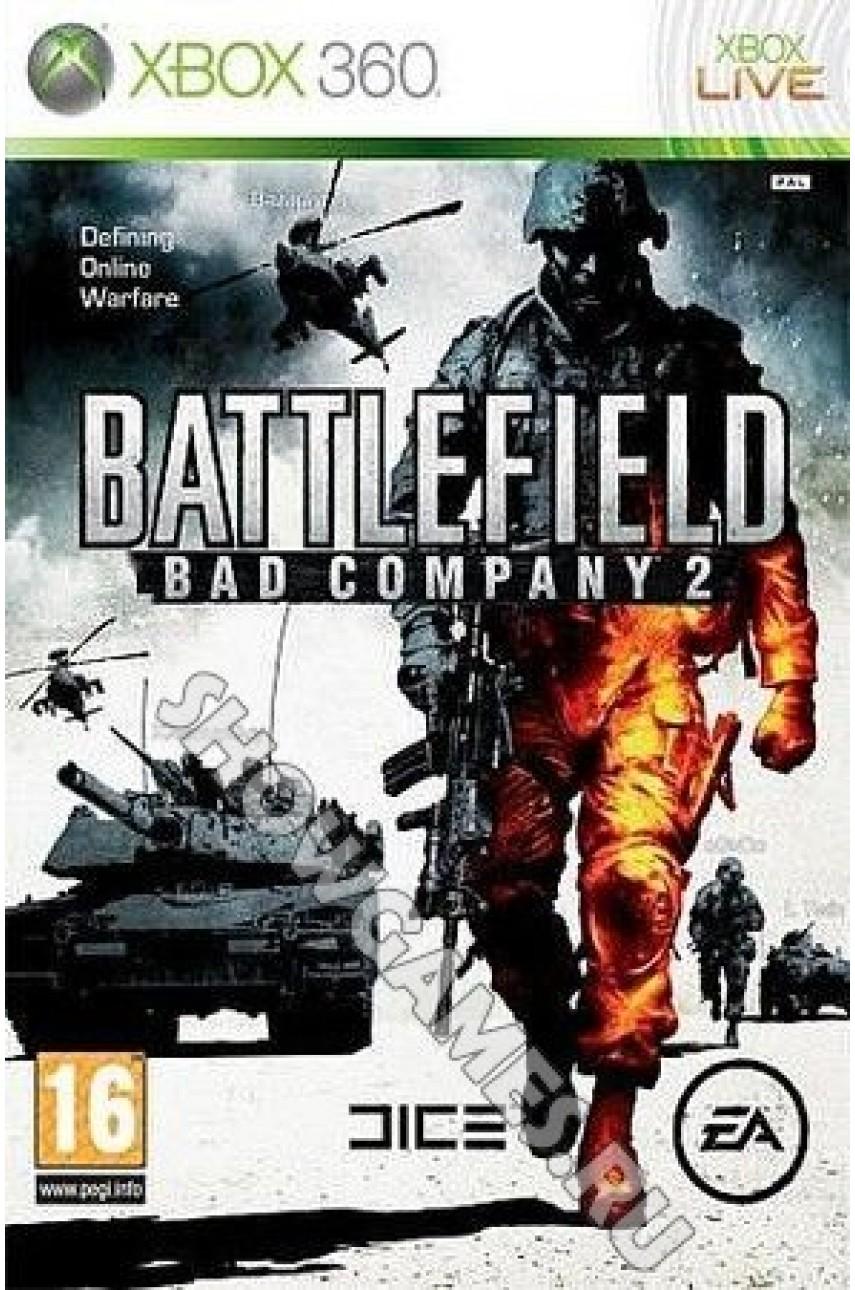 Игра Battlefield Bad Company 2 на русском языке для Xbox 360 - Б/У