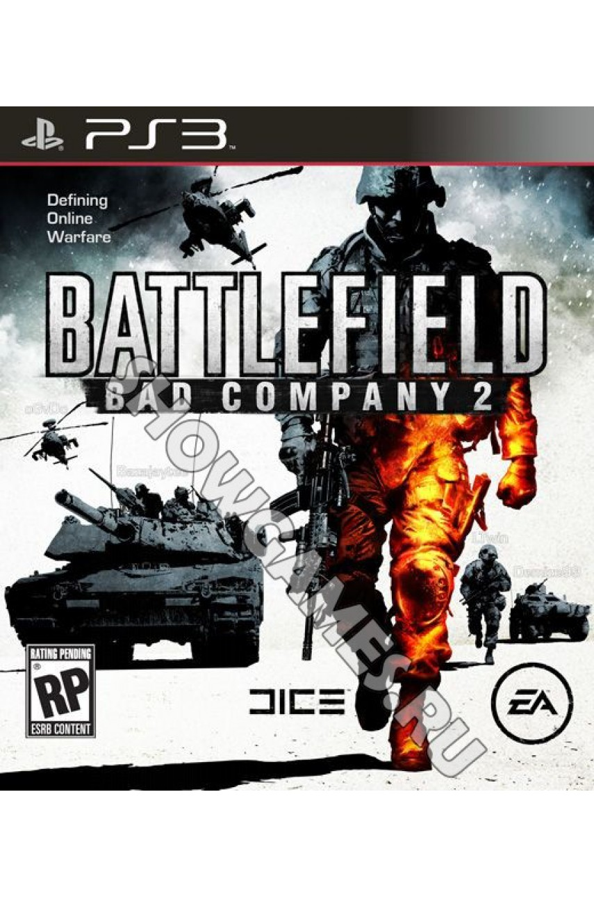 Battlefield: Bad Company 2 (Русская версия) [PS3]