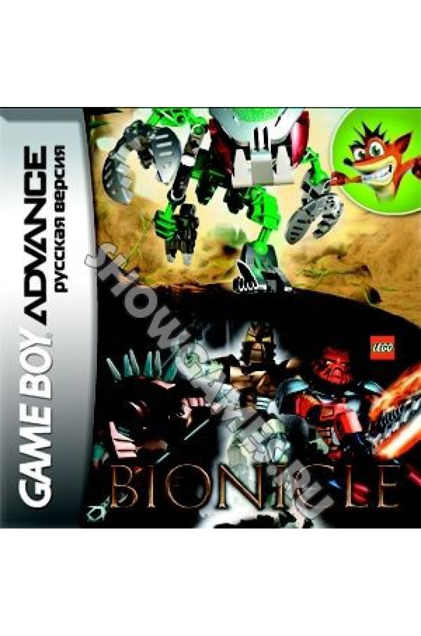 Bionicle The Game (Русская версия) [GBA]