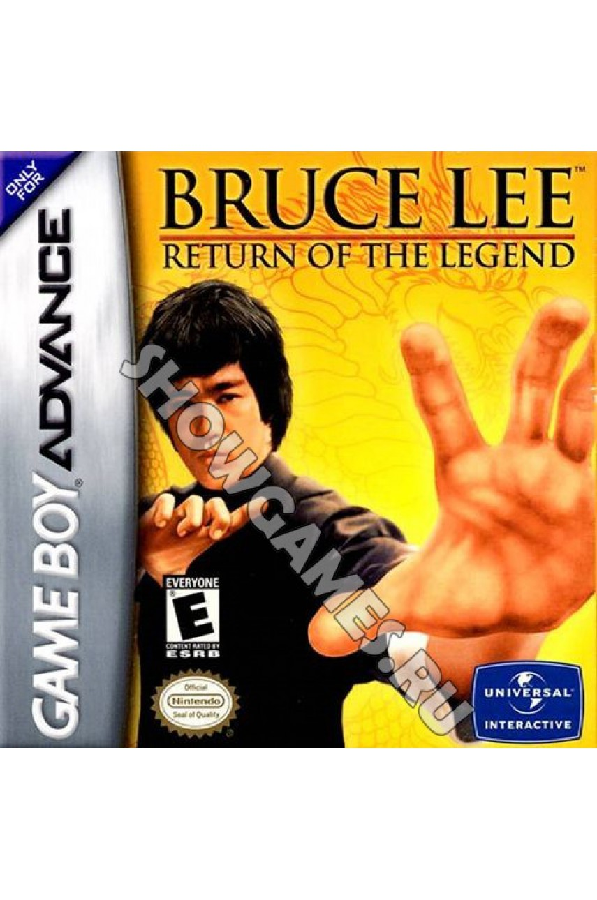 Bruce Lee: Return of the Legend [GBA]