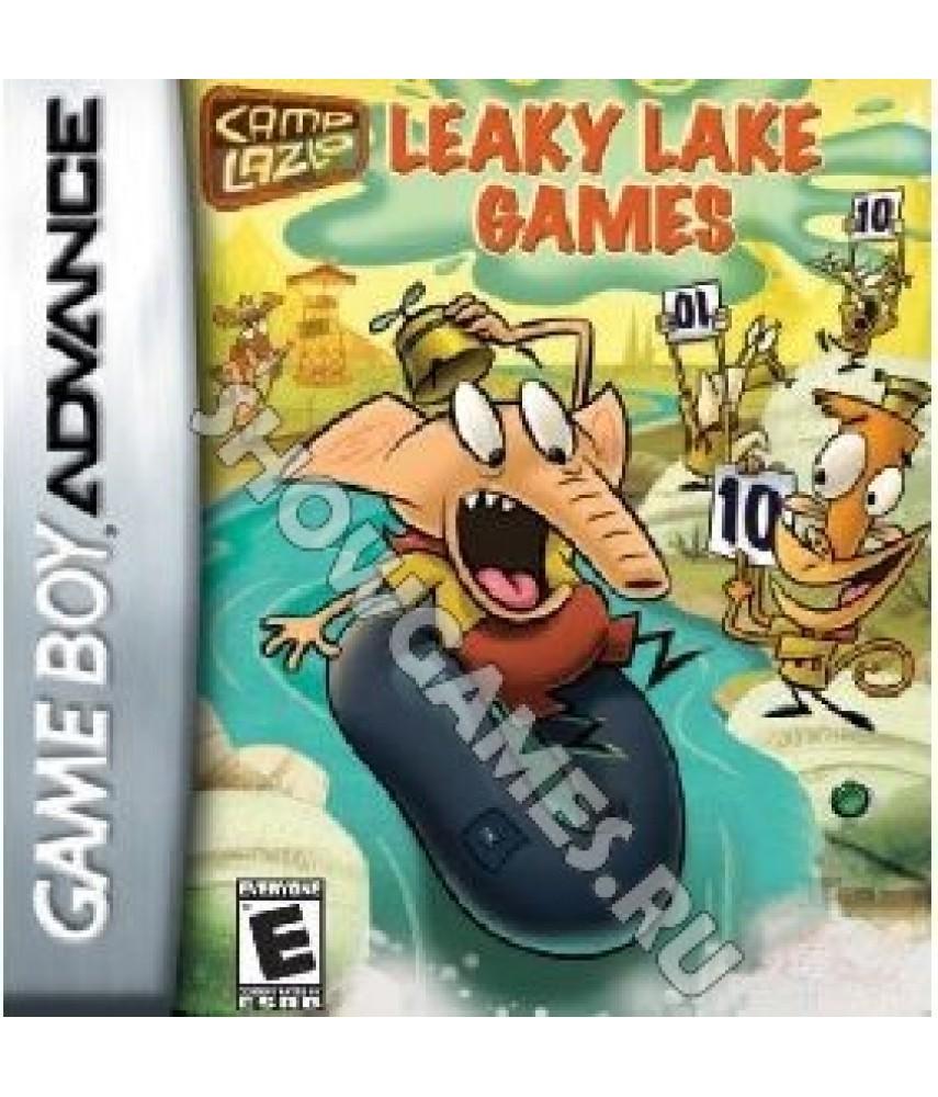 Camp Lazlo Leaky Lake Games  [Game Boy]