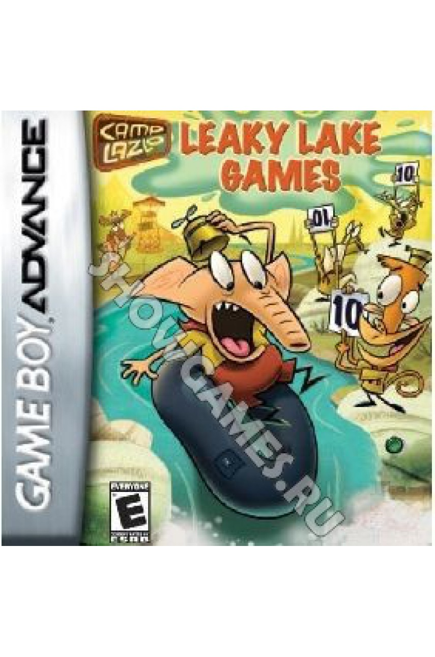 Camp Lazlo Leaky Lake Games  [Game Boy]