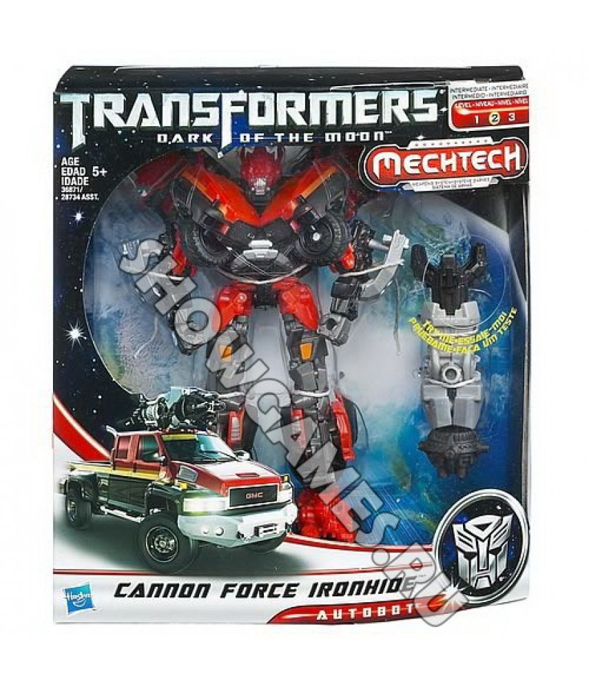 Игрушка робот Трансформер Кэнон Форсе Айронхайд (Transformers Dark of the moon: Cannon Forse Ironhide) (Hasbro) /18 см/