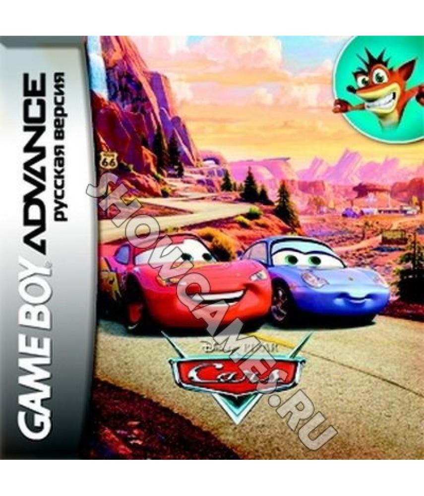Cars (Русская версия)  [GBA]
