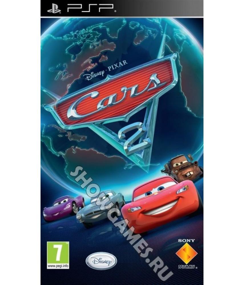 Disney / Pixar Тачки 2 - Cars 2 (Русская версия) [PSP]
