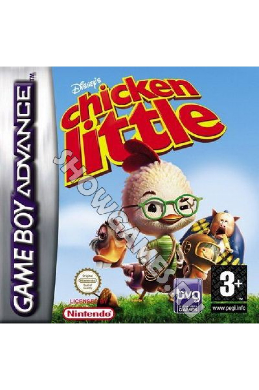 Chicken Little [Game boy]