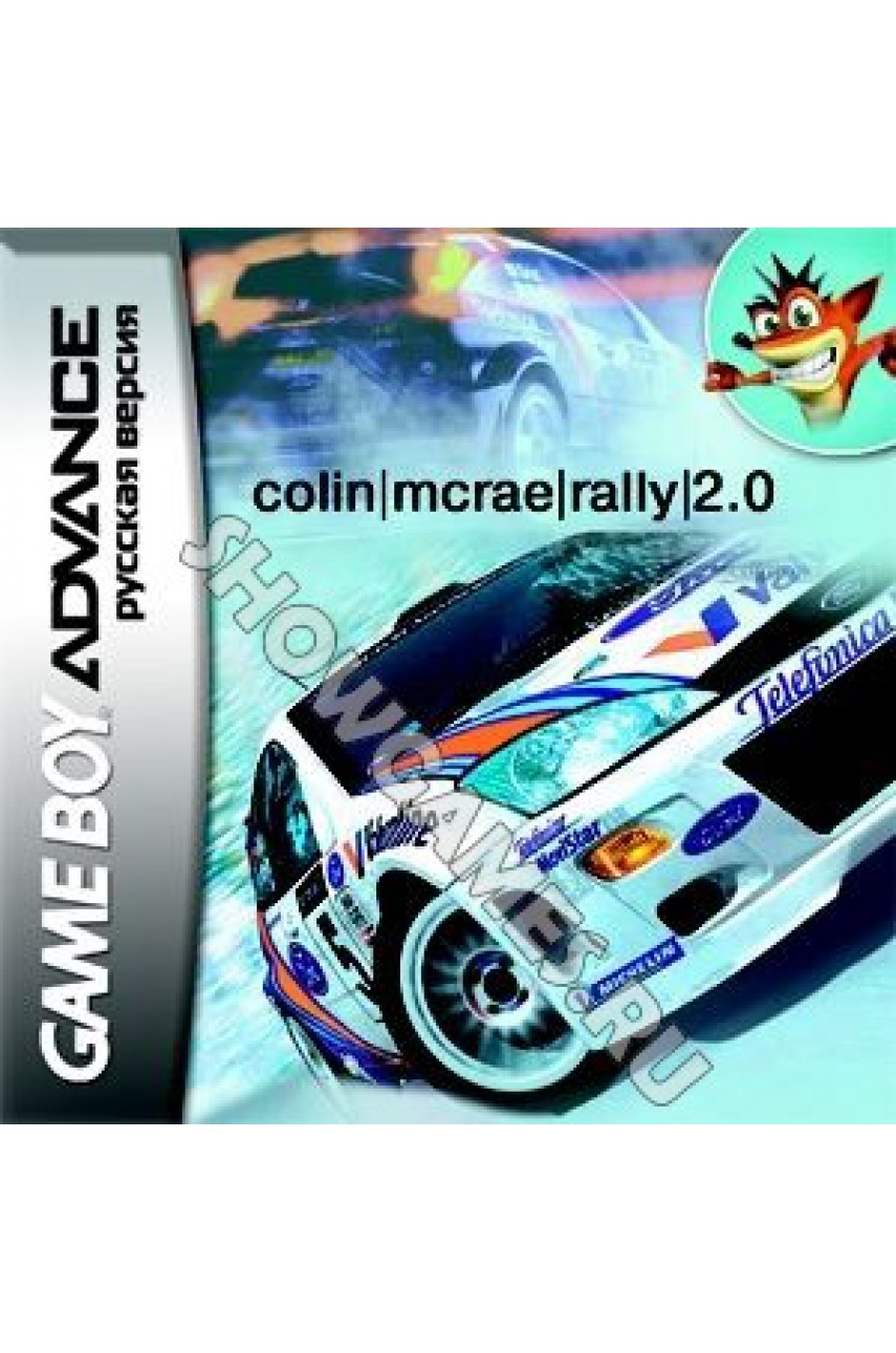 Colin McRae Rally 2.0 [GBA]