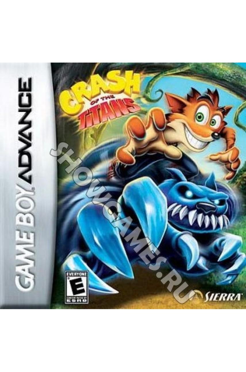 Crash of the Titans [Game boy]
