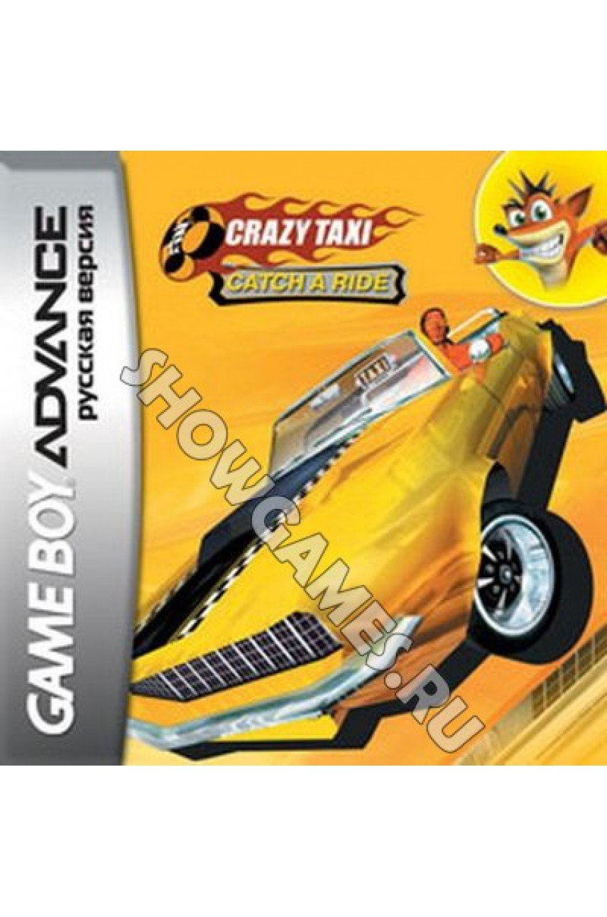 Crazy Taxi: Catch a Ride (Русская версия)  [GBA]