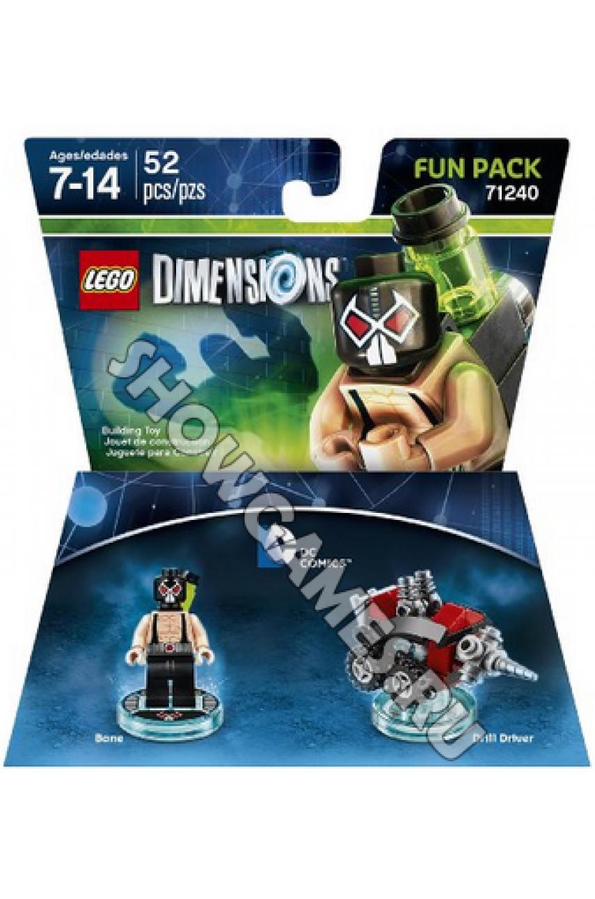 DC Bane Fun Pack - LEGO Dimensions 71240  - Б/У