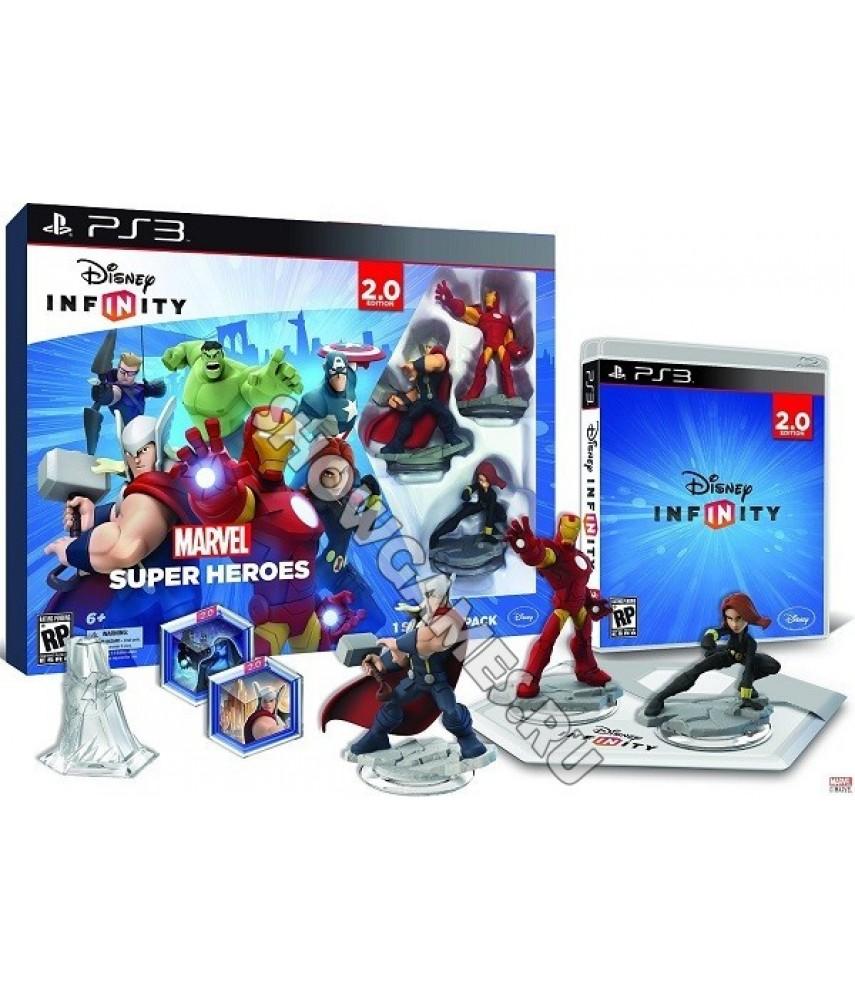 Disney Infinity 2.0 Marvel Super Heroes Стартовый набор [PS3]