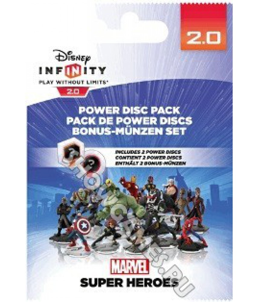 """Disney Infinity 2.0 (Marvel): Набор 2 """"Волшебных жетона"""""""