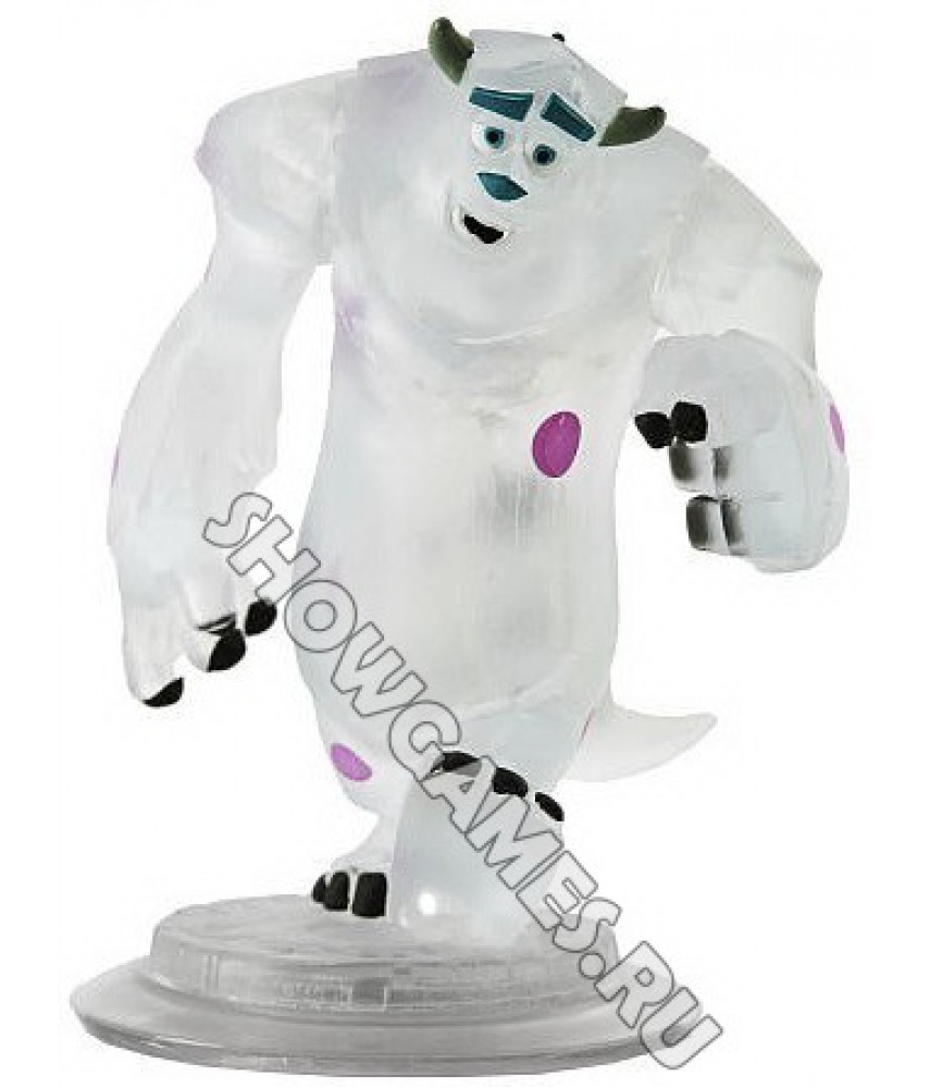 Disney Infinity Crystal Exclusive: Фигурка Sully (Салли) (прозрачный)