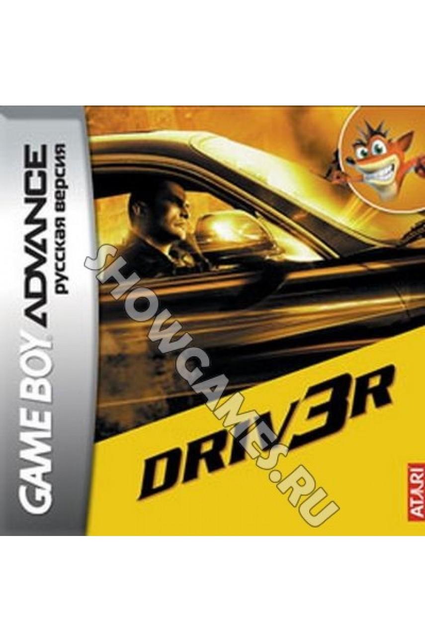 Driver 3 (Русская версия)  [Game boy]