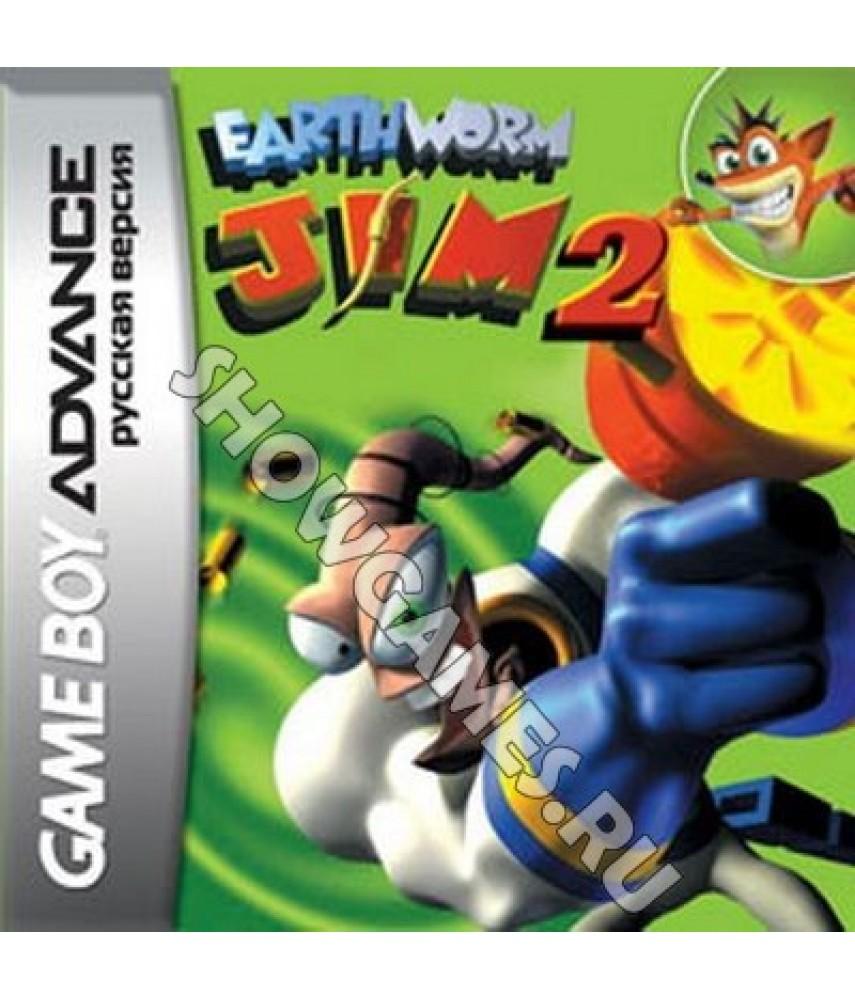 Earthworm Jim 2 (Русская версия)  [Game boy]