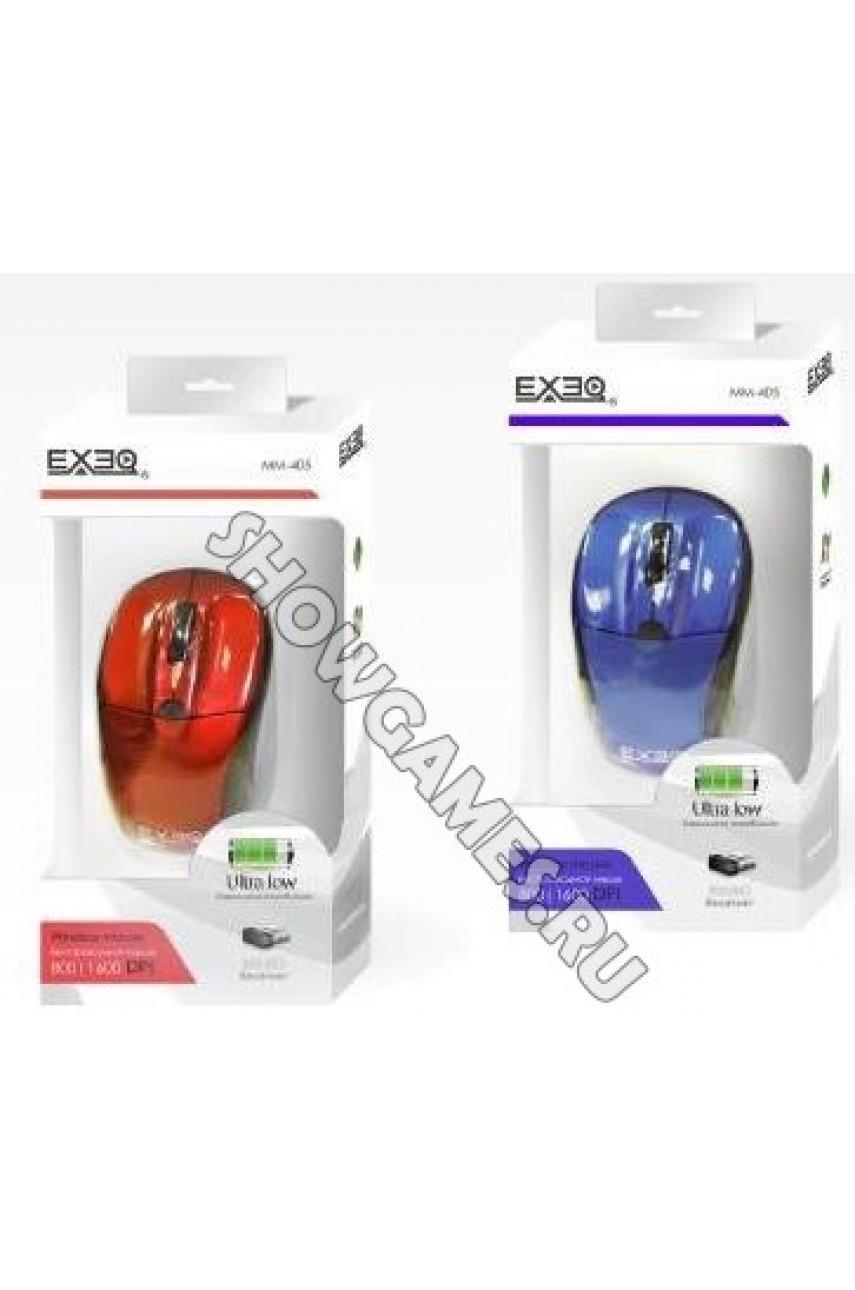 Мышь беспроводная EXEQ MM-405