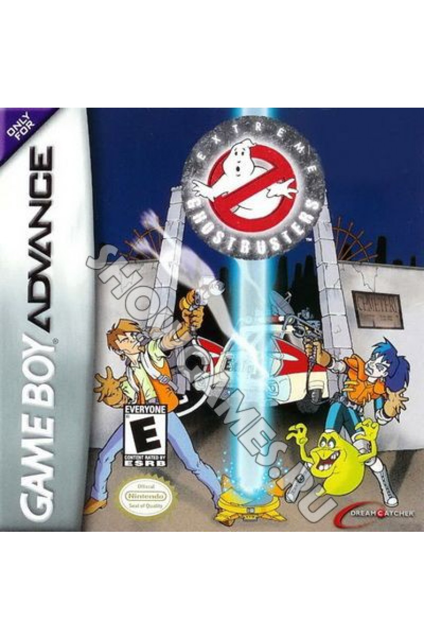Extreme Ghostbusters: Code Ecto  (Русская версия)  [Game boy]