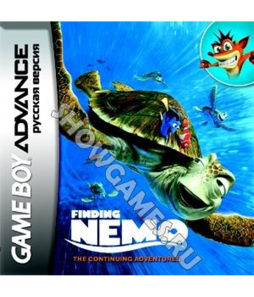 Finding Nemo: The Continuing Adventures  (Русская версия)  [GBA]