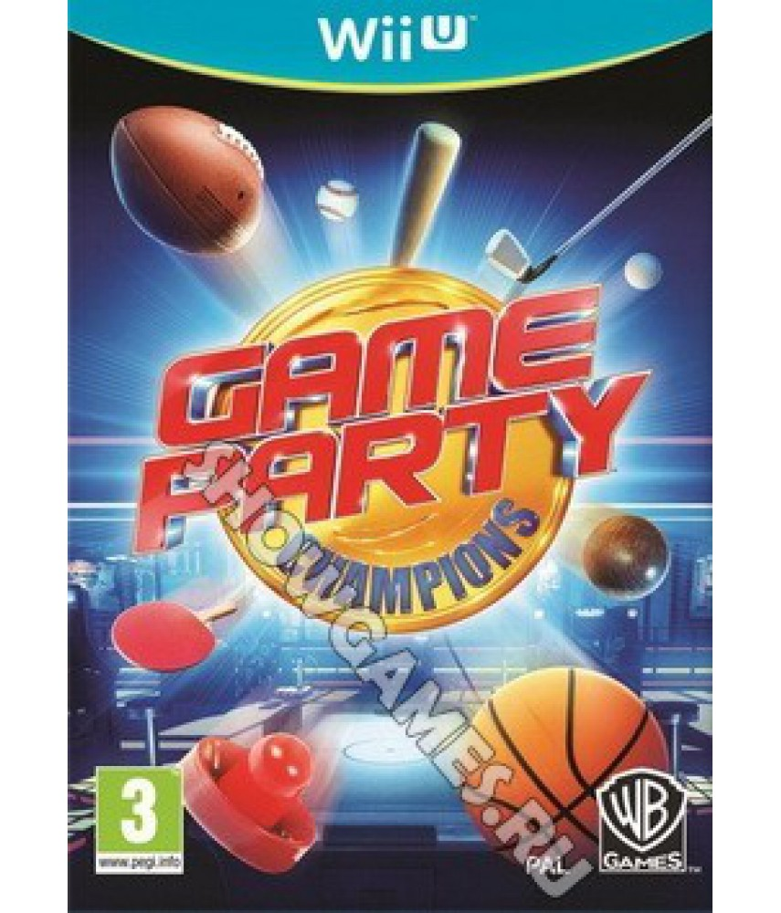 Game Party Champions [Wii U]