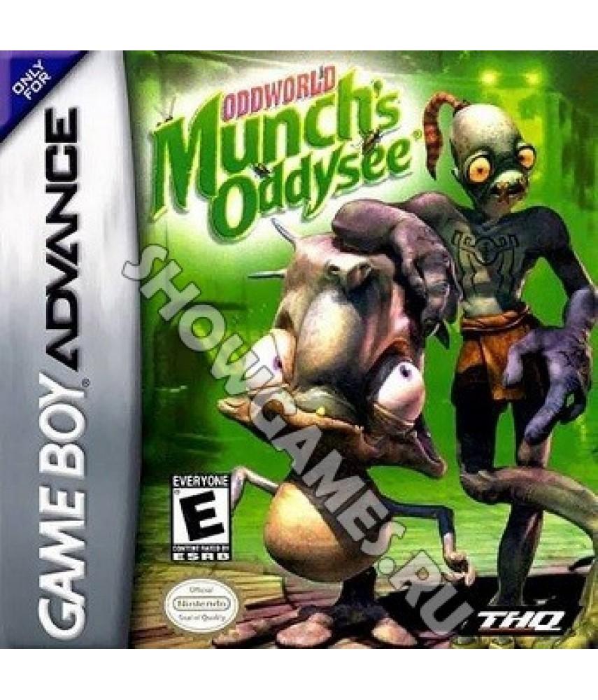 Oddworld: Munch s Oddysee [GBA]