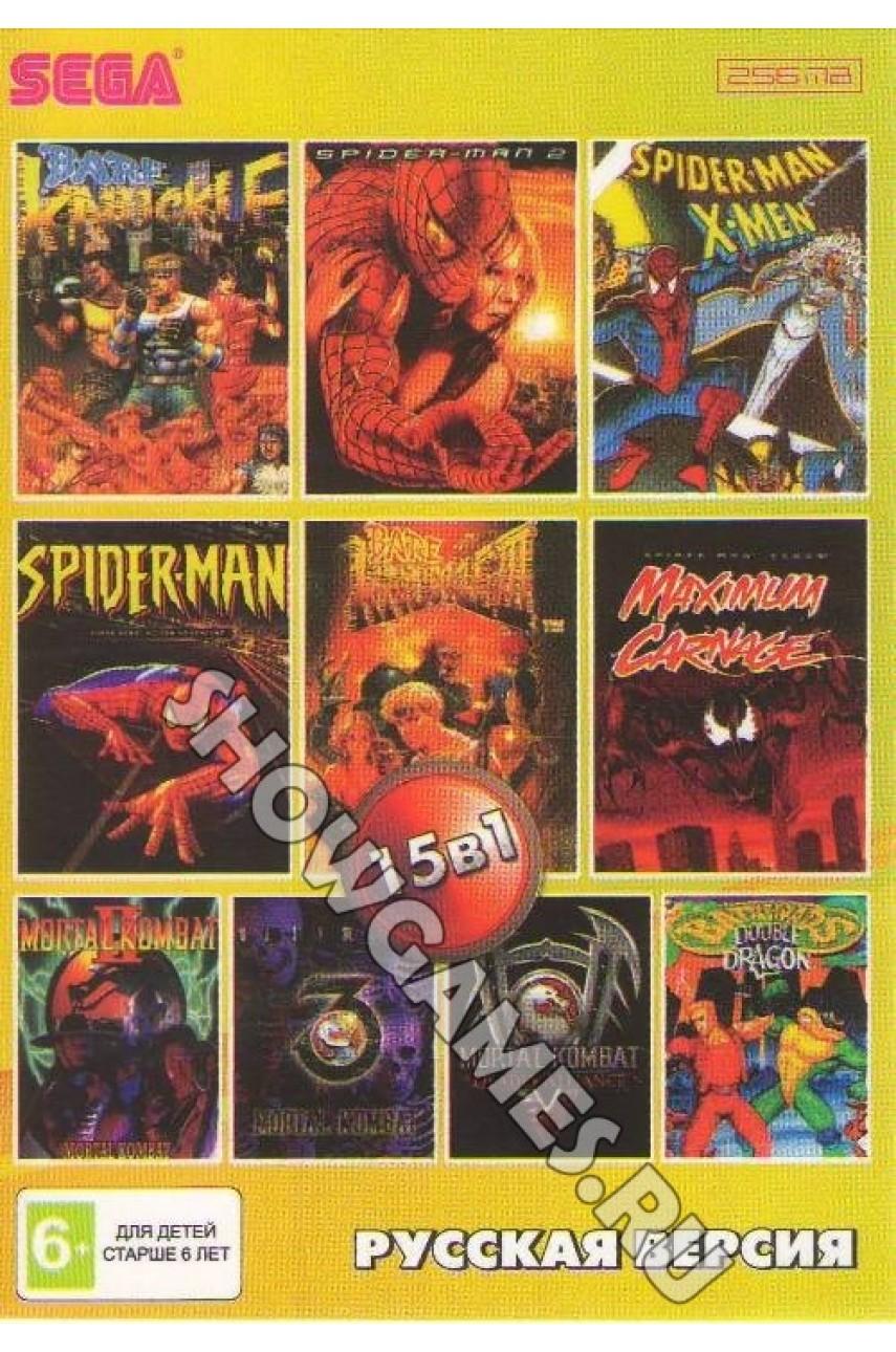Сборник игр для Сеги 15 в 1 (AA-150001) [Sega]