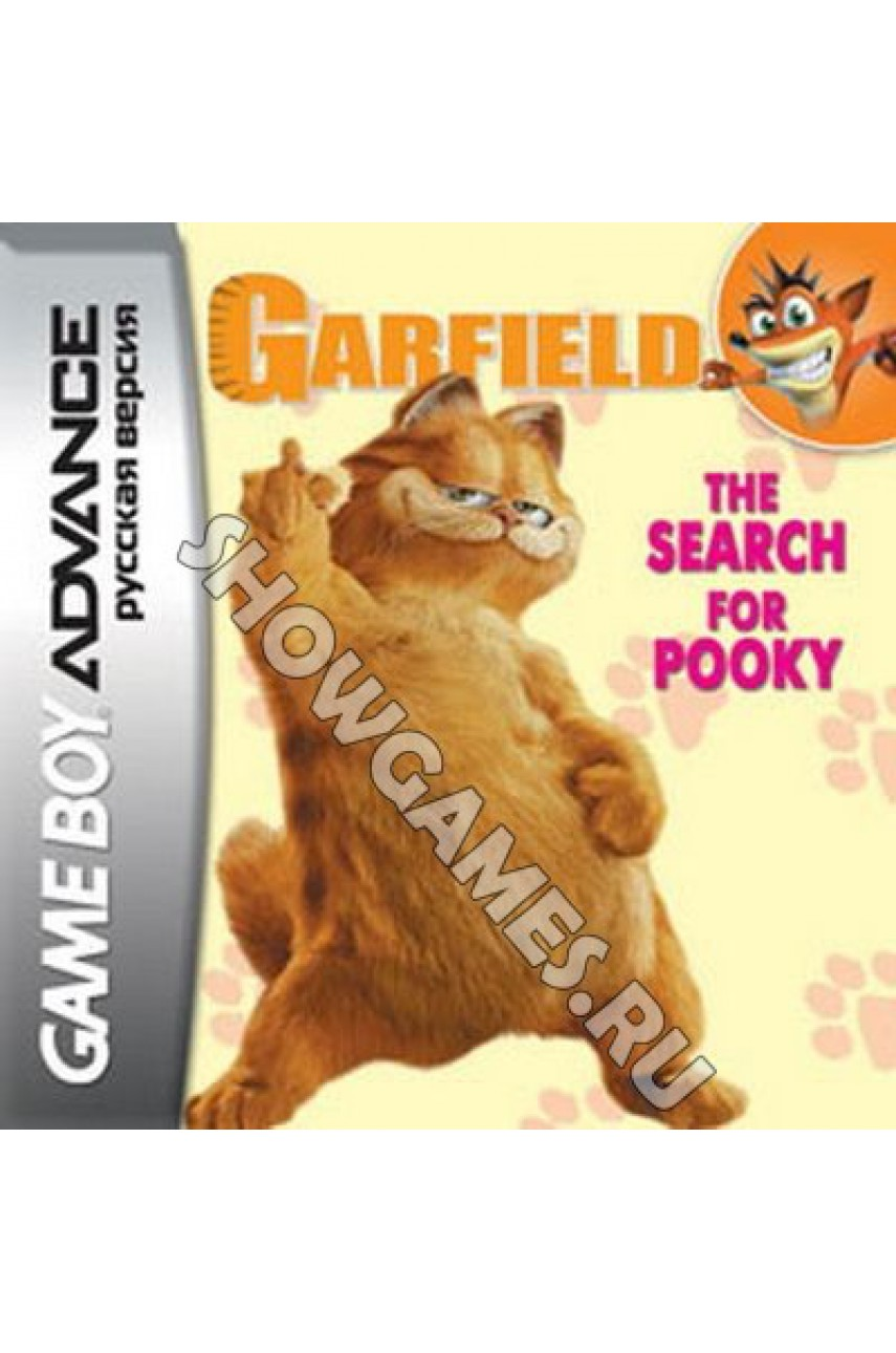 Garfield: The Search For Pooky  (Русская версия)  [Game Boy]