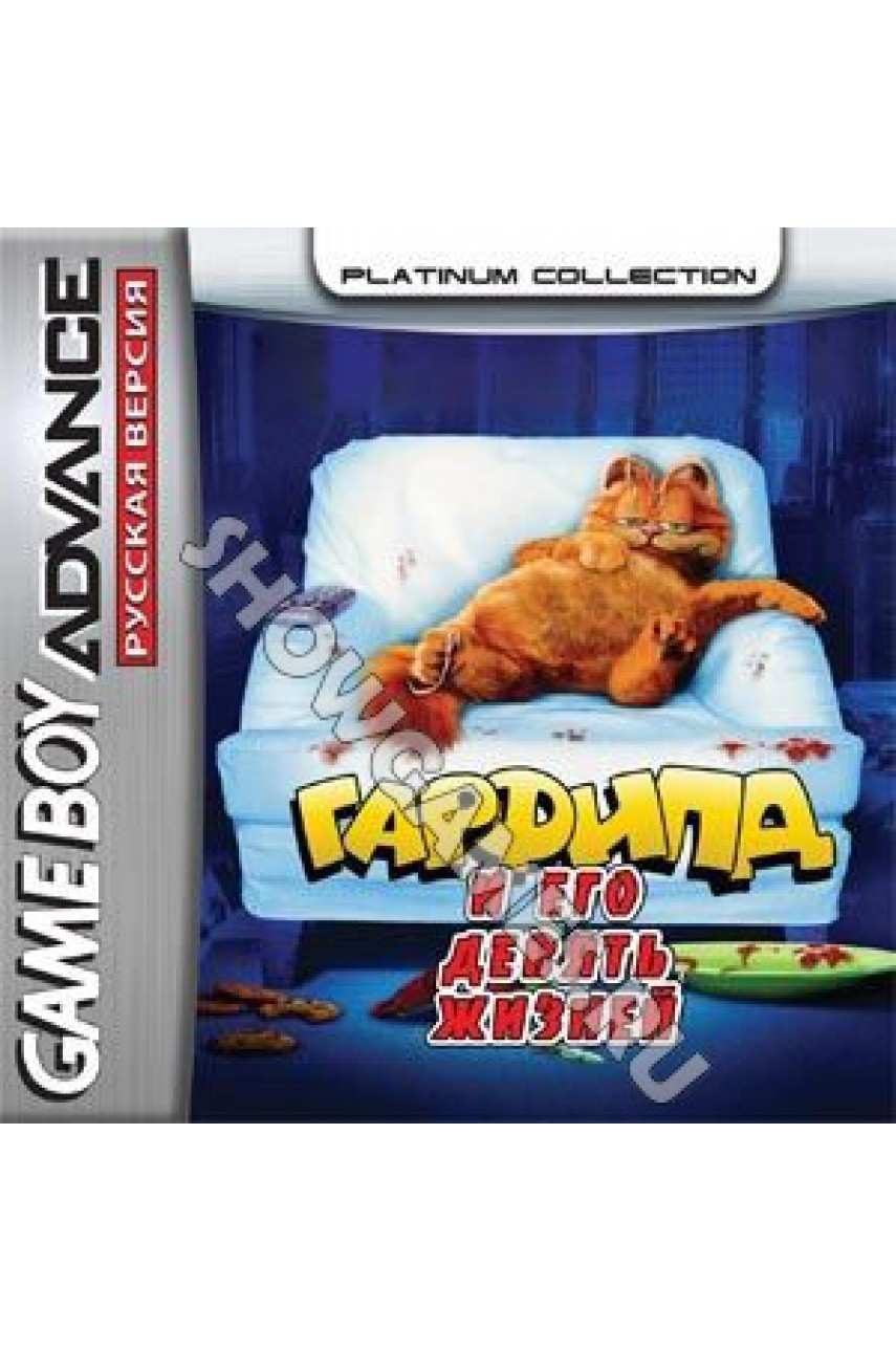 Garfield and His Nine Lives  (Русская версия)  [GBA]