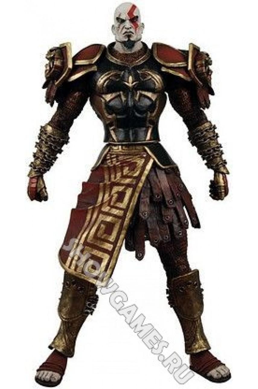 God of War 2. Фигурка персонажа Кратос (Kratos) в доспехах
