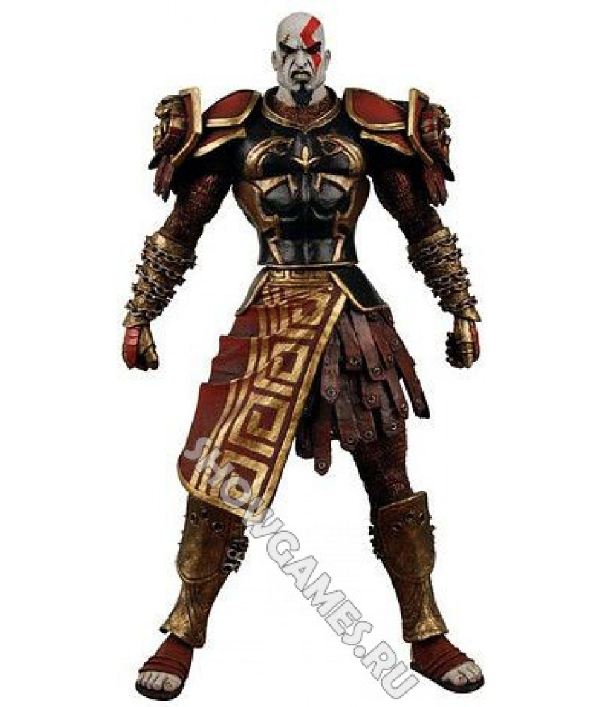 God of War 2. Фигурка персонажа Кратос (Kratos) в доспехах 2