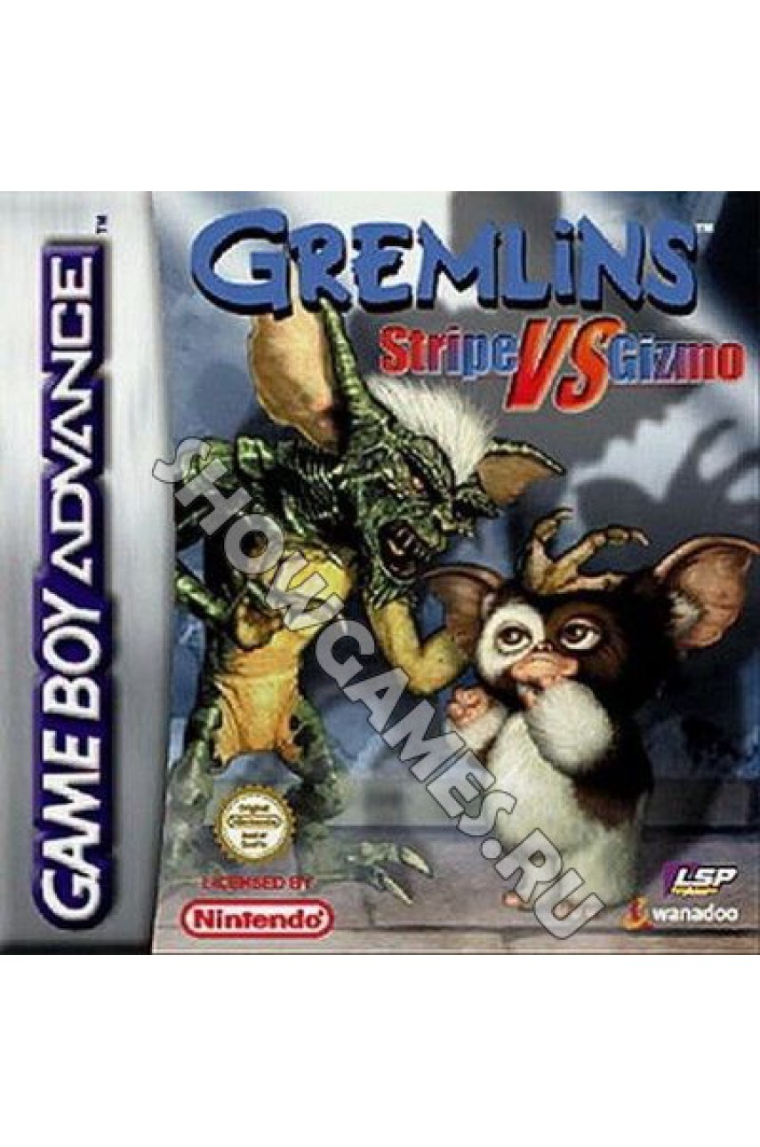 Gremlins: Stripe vs Gizmo [Game Boy]