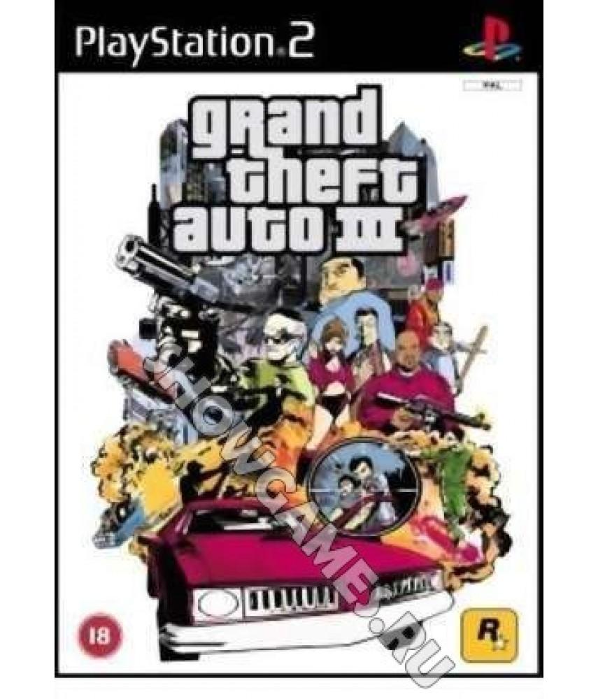 Grand Theft Auto III (GTA 3) [PS2]