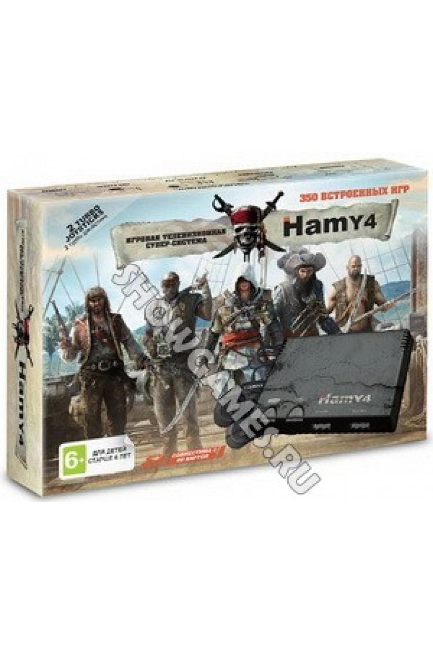 Hamy 4 (350 игр) Assassin Creed Black (8-bit/16-bit - SD карта)