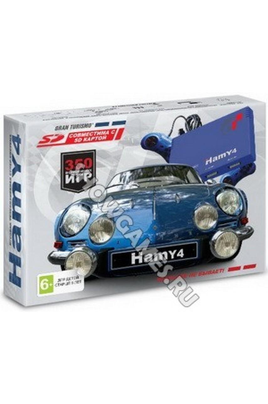 Hamy 4 (350-in-1) Gran Turismo Blue (8-bit/16-bit - SD карта)