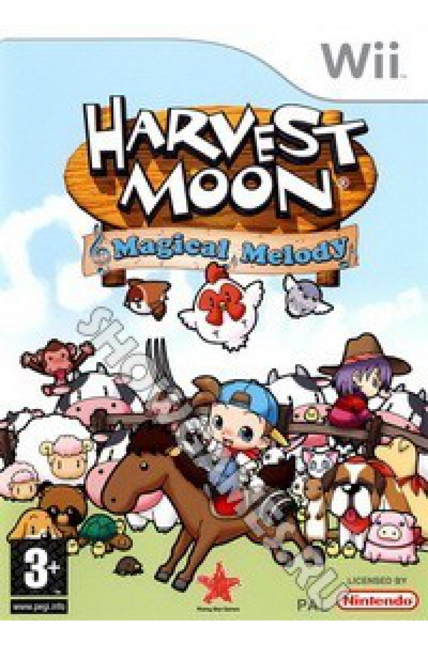 Harvest Moon Magical Melody [Wii]