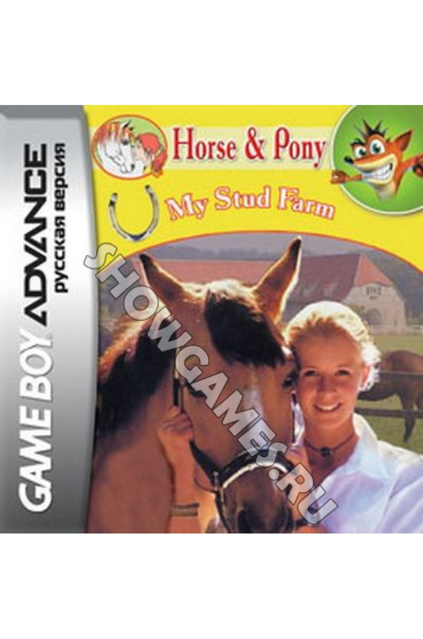 Horse and Pony - My Stud Farm  [GBA]