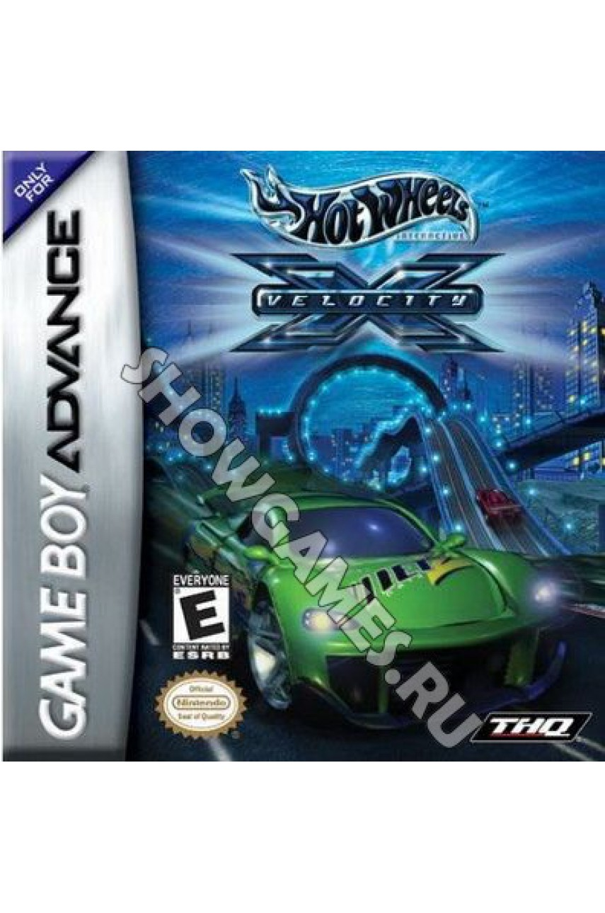 Hot Wheels Velocity X [Game Boy]